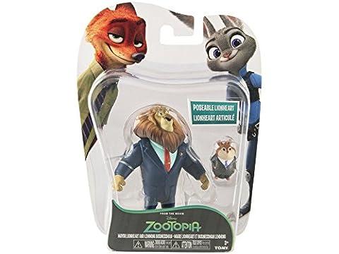 Figurines Maire Lionheart et Lemming Zootopie
