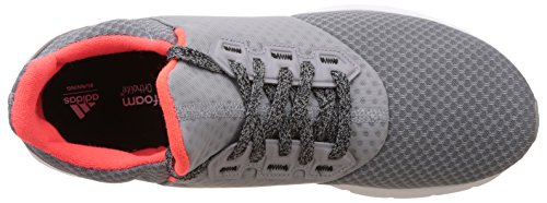 adidas Falcon Elite 5 M, Scarpe da Corsa Uomo Grigio (Gris (Grimed / Ftwbla / Rojsol))