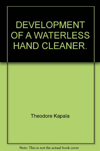 development-of-a-waterless-hand-cleaner