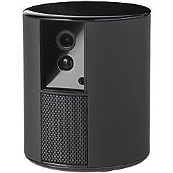 Somfy Protect 2401492A All-in-One Kamera und Alarmanlage in Einem/drahtloses Online-Sicherheitssystem Schwarz