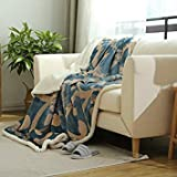 Color 2, 200X230Cm : Fashion Double Layer Thickening Winter Flannel Fleece Blanket On The Bed Soft Sofa Throw Blanket Brand Queen King Blanket Sheet