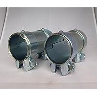 neu 2 x Auspuffschelle Ø 55,5 mm VAG Breitbandschelle Auspuff Abgasanlage AUDI