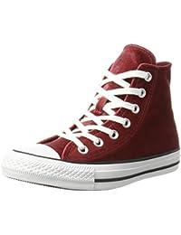 Converse Unisex-Erwachsene Ctas Hi Red Block White Hohe Sneaker