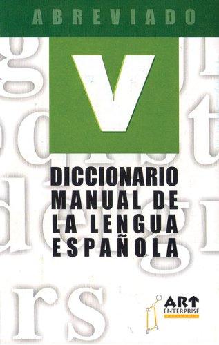 Dicc. abreviado español (Diccionarios Vosgos series / Vosgos Dictionaries Series) por Aa.Vv.
