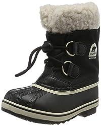 Sorel Kinder Yoot Pac Nylon Stiefel, schwarz, Größe: 37