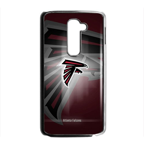 Custom LG G2 NFL Sports Logos Case Atlanta Falcons Logo Design Protective Bumper Cover Atlanta Falcons Uniform