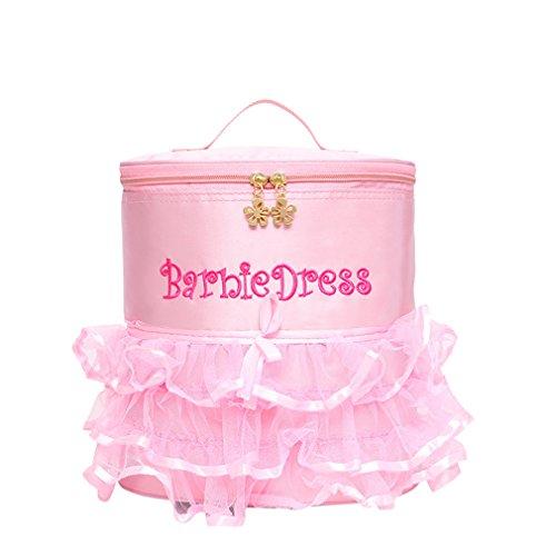 Ballett-Tanz Rucksack Tutu Barbie Dance Staubbeutel Rosa Kinder Mädchen Tasche für Schule PD17 (Tutu Schule)