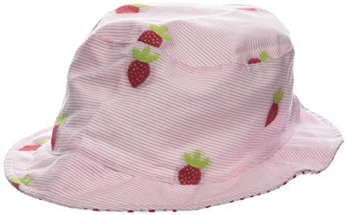 maximo Mädchen Hut, Erdbeeren Mütze, per Pack Rosa (zartrosa-rot-erdbeeren 25), 53 (Herstellergröße: 53)