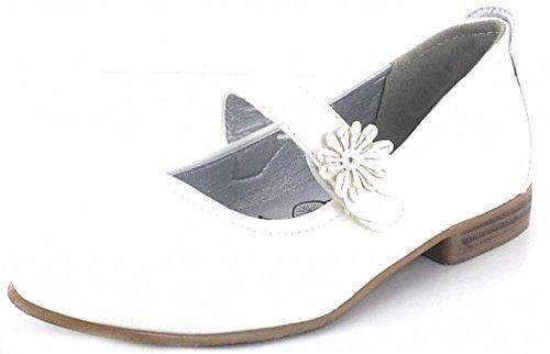 Indigo 424 067 Mädchen Knöchelriemchen Weiß (White 109)