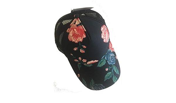 55d04196c9 Vans Beach Girl Pink Floral Snapback Hat Trucker Cap Women s Sport   Amazon.co.uk  Clothing