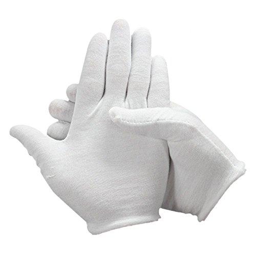 rxbc20114Paar Baumwolle Feuchtigkeitsspendende Handschuhe Kosmetik Hand Spa Handschuhe Feuchtigkeit eine Verbesserung Handschuhe für trockene Hände
