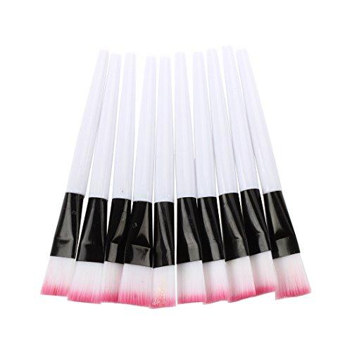 sodialr-10pcs-pink-brosse-white-bar-de-masque-facial-soins-de-la-peau-outils-de-maquillage