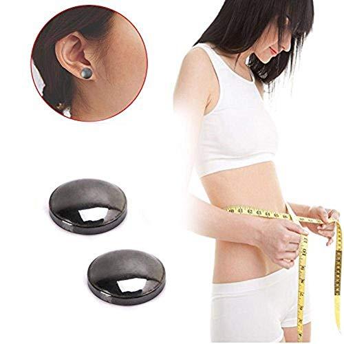 416UjuQIJnL - Pendientes magnéticos - Clip de oreja Dewin para pérdida de peso, como masaje de acupuntura, salud de oreja eliminar aretes, adecuado para mujeres y hombres