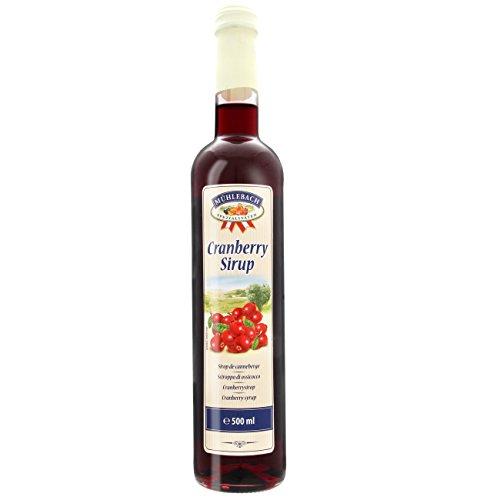 Mühlebach Sirup Cranberry 0,5l