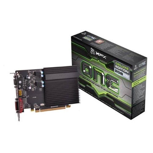 XFX AMD Radeon HD 5450 2GB GDDR3 VGA DVI HDMI PCI-Express Video Card  available at amazon for Rs.8118