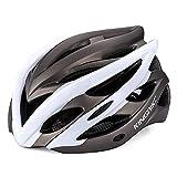 Fahrradfahren Helm, EIN Rad - Fahrrad Helm,Weiße,L