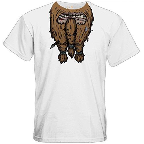 getshirts - Rocket Beans TV Official Merchandising - T-Shirt - Pen & Paper - Bart White