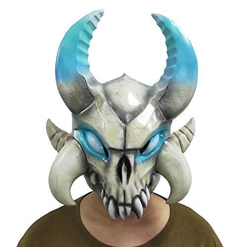 XIAOMING - Máscara de látex para Cosplay, diseño de Huesos de Ganad