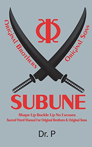subune-shape-up-buckle-up-no-excuses-sacred-word-manual-for-original-brothers-original-sons-english-