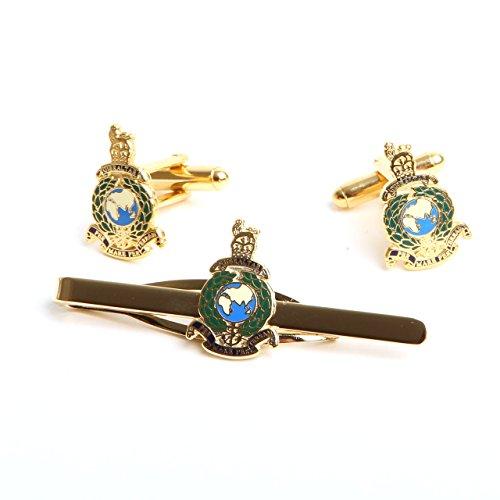 Boutons de manchette du Corps des royal marines et Bike It Sangle Coffret regimental, royal navy giftware et accessoires