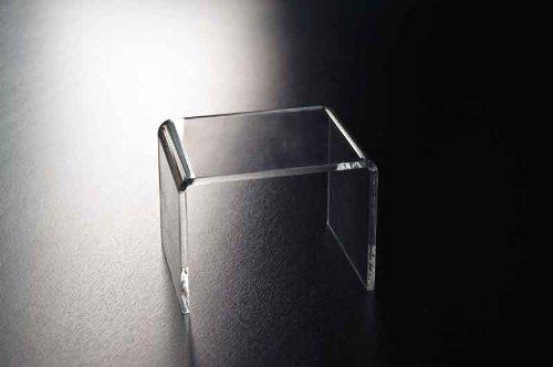 Fimel - Tavolino per esposizione L280XP100XH210mm in plex trasparente
