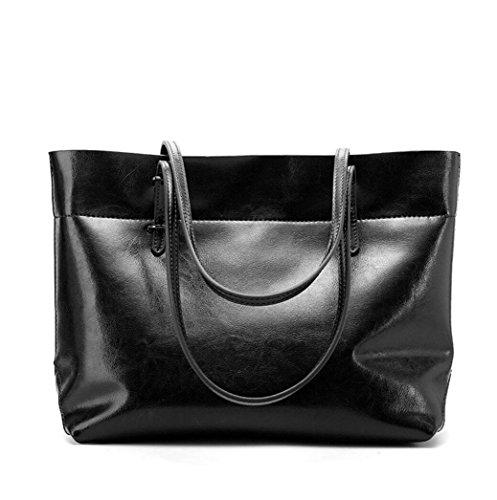 Lady Casual Schultertasche Leder Leder Handtasche einfache und praktische Paket Diagonale Taschen 5
