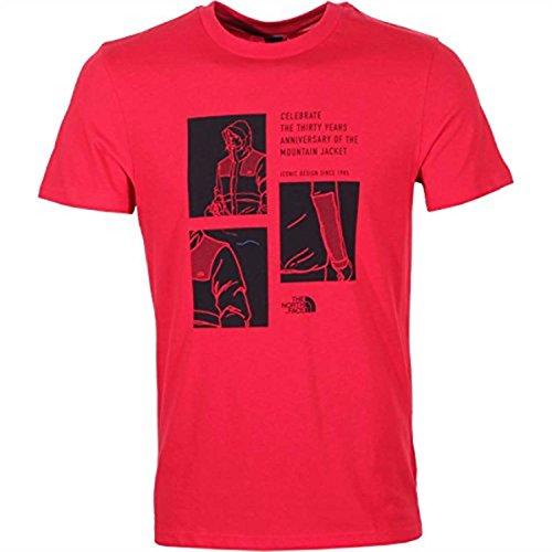 The North Face Celebration Herren-T-Shirt Rot