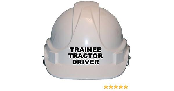 Trainee Tractor Driver Children/'s Kids Hard Hat Safety Helmet Cap One Size