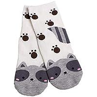 2020 Primavera y otoño Animal de Dibujos Animados Calcetines Femeninos Rectos Animales Adultos Lindos Calcetines Femeninos algodón cómodo Calcetines de Tubo