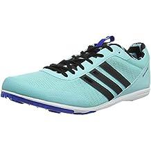 the best attitude 14001 654cf adidas Distancestar w - Zapatillas de Running para Mujer, Azul -  (AGUCLA Negbas