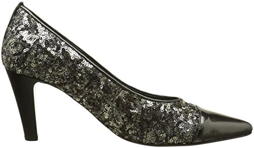 Gabor Fashion, Scarpe con Tacco Donna Grigio (Argento/anthrazit 49)