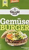 Bauckhof Gemüse-Burger Demeter, 6er Pack (6 x 160 g)