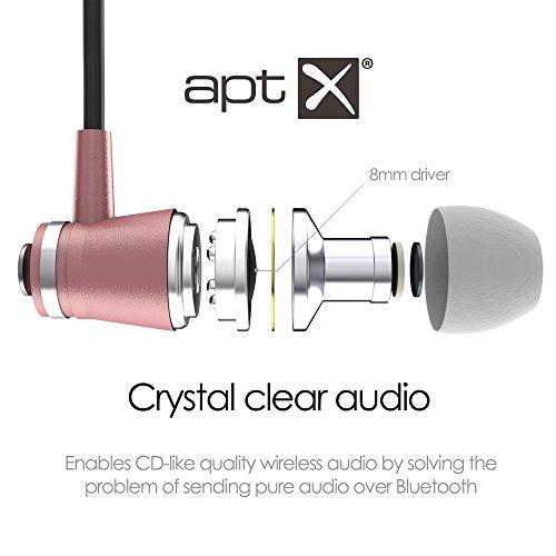 Bluetooth In Ear Headphones Desire2 Listen [ESCAPE] Wireless Bluetooth 4 1  Earphones Stereo Magnetic Earbuds, APTX sound technology, Lightweight,