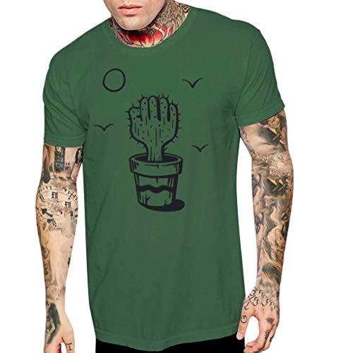 Herren T-Shirt,SANFASHION 3D Print Weisemänner Beiläufige Kurzarm Top,Funktionelle Sport Bekleidung,Geeignet Für Workout, Training & Spartaner