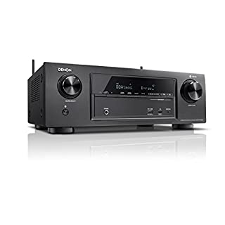 Denon AVR-X1400H 7.2-CH AV Surround Home Theatre Receiver with Bluetooth, Wi-Fi, Airplay, Dolby Atmos, DTS:X & HEOS