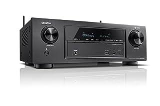 Denon AVRX1400H 7.2-Kanal AV-Receiver und HEOS Integration (Dolby Vision Kompatibilität, Dolby Atmos, dtsX, WLAN, Bluetooth, Spotify Connect, 4K/60Hz 6 HDMI-Eingänge, 7x 145 W) schwarz (B07178VYSF) | Amazon Products