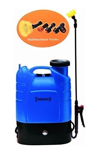 Irroratore/Spruzzatore/Pompa irroratrice a batteria ricaricabile 12V 16lt. a spalla/zaino - Mod. B