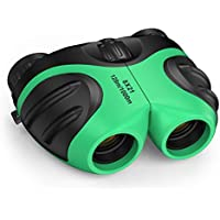 DMbaby Regalos para Niños 3-12 Años, Juguetes Niño Binoculares Telescopio De Senderismo Juguetes para Niños de 3-12 Años Regalos de Cumpleaños para Niños de 3-12 Años Regalos para Niño -Verde
