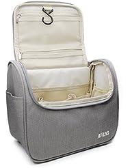 Kulturbeutel zum Aufhängen, Airlab Kulturtasche mit Tragegriff und Haken, Größe: 24 x 19,5 x 12,5cm