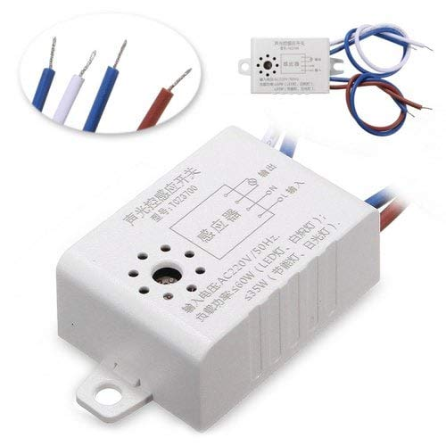 ExcLent Automatischer EIN-/Ausschalten Von Street Light Switch Für Ac 220V Electronic Components Sensors-Milk White Ac-transistor