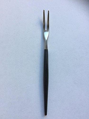 Asa Selection 32127950 Aperitif-Gabel GOA mit schwarzem Griff