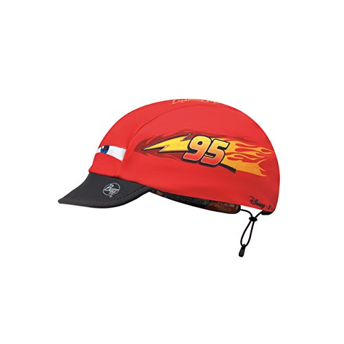 Buff Kinder Cars Cap, Lightning McQueen Red Multi, One Size