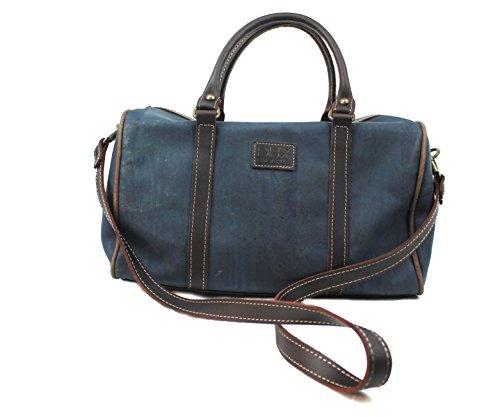 HANDBAG FOR WOMAN with STRAP Option by Dux Cork GENUINE PORTUGUESE PREMIUM Cork Fabric Leather