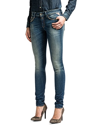 Replay - Pantaloni, Donna, Blue Denim 10, 44 IT (30W/32L)