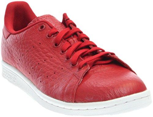 adidas Men's Originals Stan Smith Sneaker (10.5 D(M) US, Reptile Red) -