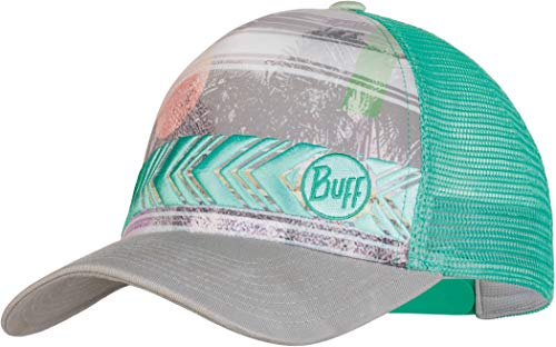 Buff S.A. Buff Damen Trucker Cap Biome Aqua, One Size