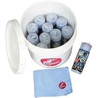 Cramer Produkte 760393 Kalten Trherapy Coole Handtuch Team Kit - 12 kleine Handt-cher - Lagerung Bucket preisvergleich bei billige-tabletten.eu