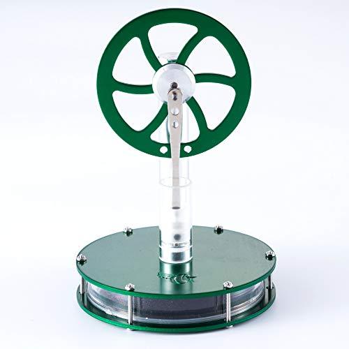 erature Metal Stirling Engine Model Kids Science Educational Spielzeug Kit Green ()
