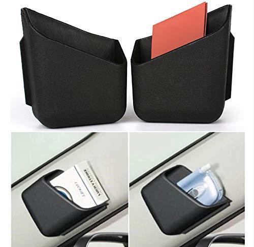 Auto Aufbewahrungsbox Neue 2 Stück Universal Auto Auto Auto LKW Pillar Aufbewahrungsbox Organizer Tasche Zigarette Handy Brillen Halter 2 Farben