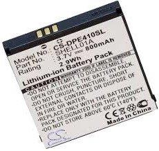 Batterie pour Doro PhoneEasy 409, 409GSM, 410, 410gsm, 610, 610GSM